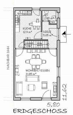 doppelhaus typ c. Black Bedroom Furniture Sets. Home Design Ideas
